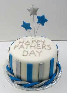Happy Father's Day cake Happy Fathers Day Cake, Fathers Day Cupcakes, Cakes For Men, Cakes And More, Fancy Cakes, Cute Cakes, Fondant Cakes, Cupcake Cakes, Ladybug Cakes