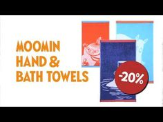 We're celebrating the Moomin's anniversary with new surprises every day in November! 70th Anniversary, Moomin, Drink Sleeves, Bath Towels, Campaign, Youtube, Youtubers