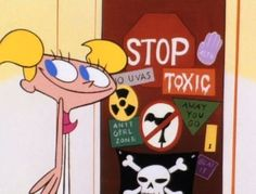 Dexter's Laboratory - Need the signs for our play house for next summer