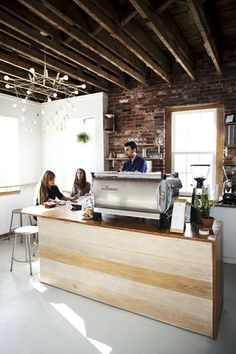 tandem-coffee-roasters-portland | Urban Spaces | Cafes and Restaurants | spaces | design | restaurant design | cafe | urban | edgy | industrial | interior design | The Loft Brokers