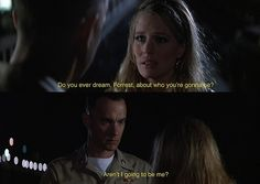 forrest gump gif - Aren't I going to be me?