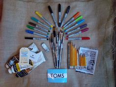 how to paint your toms blog- going to do this soon!