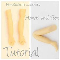 Hands and feet tutorial - CakesDecor