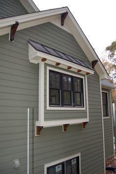 craftsman style house trim - Google Search