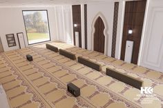 Interior And Exterior Modern Mosque on Behance Exterior Wall Design, Modern Exterior, Interior And Exterior, Concept Board Architecture, Architecture Design, Shop Front Design, House Design, Boundry Wall, Compound Wall Design