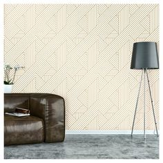 Devine Color Ribbon Peel And Stick Wallpaper - Project 62 , Gold White Metallic Wallpaper, Trendy Wallpaper, Metallic Gold Color, Removable Wall, Peel And Stick Wallpaper, Wall Wallpaper, Painted Furniture, Door Furniture, Print Patterns