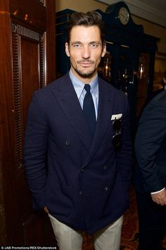 Dapper chap: David went across to theFung Retail Group LCM Dinner where Eva was that night