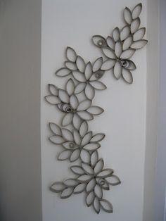 Мислили ли сте някога, че от ролките тоалетна хартия може да се създаде нещо толкова красиво? Преди време попаднах на тази идея, но все не ...