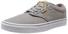 Vans M Atwood Deluxe, Herren Sneakers, Grau (10 Oz Canvas/frost Gray/blanket), 38/39 EU - http://autowerkzeugekaufen.de/vans/38-39-eu-vans-atwood-herren-sneakers-schwarz-blk-bl