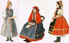 Palóc népviselet, Nógrád megye - Hungary Dress Out, Hungary, Pretty Dresses, All Things, Costumes, Disney Princess, Budapest, How To Wear, Military