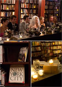library wedding ideas. Last place I would want to get married.  But I work in one every day