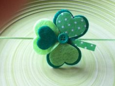 St Patrick's Day Headband for Babies by Reggaroos on Etsy, $6.00