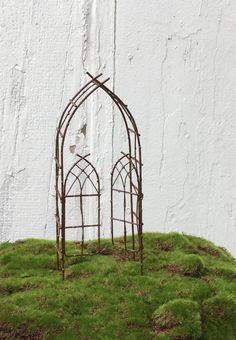 Hey, I found this really awesome Etsy listing at https://www.etsy.com/listing/236969010/miniature-garden-arbor-trellis-fairy