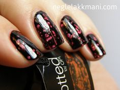 OPI Black Spotted... If only this wasn't a limited edition nail polish sold only in France!