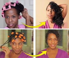 2 Magnetic Roller Sets - A Simple Way To Stretch Your Natural Hair  Read the article here - http://www.blackhairinformation.com/by-type/natural-hair/2-magnetic-roller-sets-simple-way-stretch-natural-hair/
