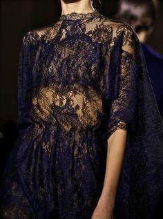 Valentino haute couture Spring 2014 PFW via chiffon et ribbons