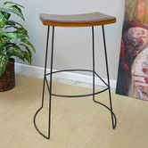 "Found it at AllModern - Jana Saddle 30"" Bar Stool"