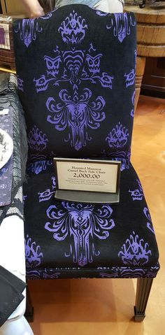 Haunted Mansion Inspired Diningroom Decor - Side chair