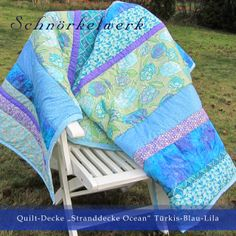 Happy Quilts by Schnörkelwerk I just love those colors and could sew a quilt like that every day