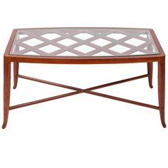 Rare Paolo Buffa Coffee Table