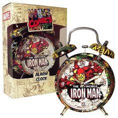 Marvel Retro Iron Man Alarm Clock