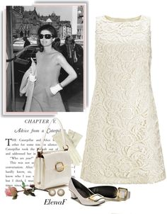 """Jacqueline Kennedy ."" by elenaf ❤ liked on Polyvore Estilo Jackie Kennedy, Jacqueline Kennedy Onassis, Timeless Fashion, Vintage Fashion, Special Dresses, Vintage Couture, Vintage Style Dresses, Mode Style, Chic Outfits"