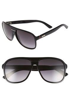 97478efb60 Gucci 59mm Aviator Sunglasses Gucci Men