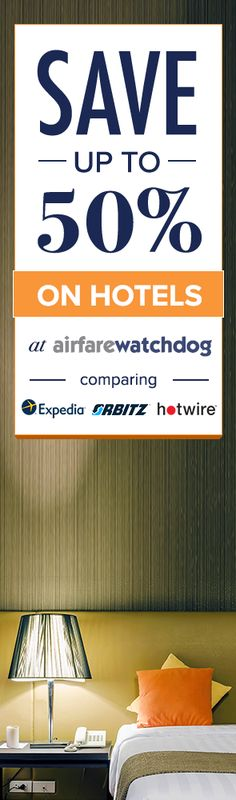 You Can Actually Find the Cheapest Hotel Ever.  Airfarewatchdog helps you save money when you book your next hotel - so you always get the best deal.