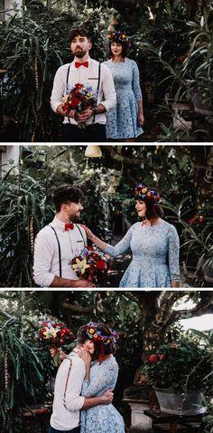 Erneuerung des Eheversprechens im La Dü - Lulugraphie Wedding Photography, Wedding Vows, Blue Yellow, Red, Wedding, Cacti, Wedding Photos, Wedding Pictures