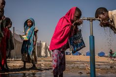 Sustainable Development Goal 6: Ensure access to water and sanitation for all Islamic Relief, Water And Sanitation, New Africa, South Africa, World Water, Online Trading, Human Rights, Climate Change, Children