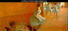 Dancers Climbing the Stairs 1886-90 - Edgar Degas - www.edgar-degas.org