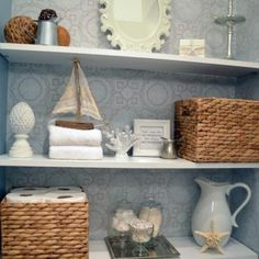 How to Build Floating Shelves {step by step}