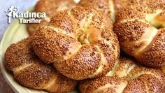 Patisserie Style Milk Bagel Recipe How to make? Pasta Cake, Bagel Recipe, Flan, Coffee Shop, Banana Bread, Bakery, Food And Drink, Favorite Recipes, Lunch
