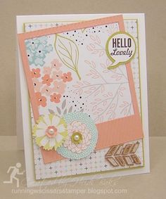 Hello Lovely Sale-a-bration Card by hlw966 - Cards and Paper Crafts at Splitcoaststampers