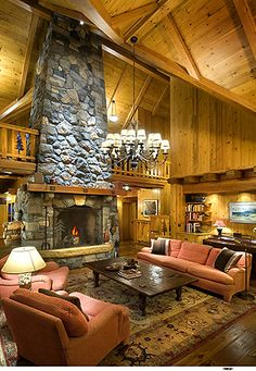 Fire place. :O This is  massive.  I like the large opening and the key stone opening around fire area.