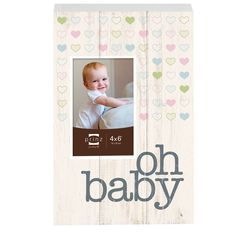 Tender Moments 'Oh Baby' Photo Plaque Picture Frame