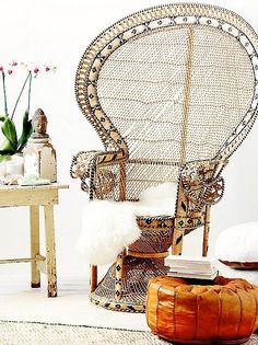HOME & GARDEN: 70 inspirations pour mettre un fauteuil Emmanuelle dans sa déco ! ** T