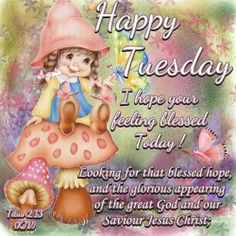 Titus 2:13  Good Morning Angel Sister's!!  Have a wonderful day In Jesus!  LY   (from Terri)