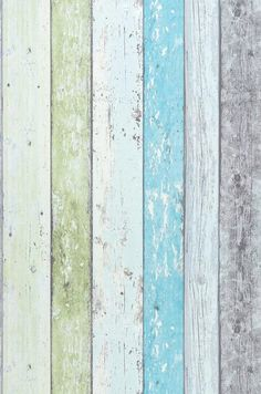 Sunroom Old Planks | Wallpaper from the 70s