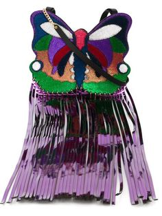 MANISH ARORA Butterfly Shaped Crossbody Bag. #manisharora #bags #shoulder bags…