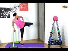 Free Barre workout - BARLATES BODY BLITZ Lower Body Barre with Ball 2 with Linda Wooldridge - YouTube