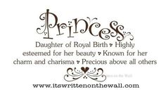 Princess Definition for the Princess Themed bedroom