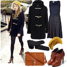 """""""Taylor Swift inspired Winter Outfit"""" by natihasi on Polyvore"""