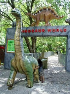 Dinosaur World, Plant City. @Taylor Diane this is seriously on pinterest...