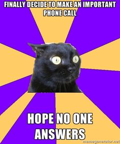 Anxiety Cat #laughterheals http://www.pinterest.com/eileenwhiterose/laughter-opens-the-heart-raises-us-up/
