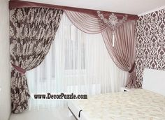 New catalogue of classic luxury curtains and luxury drapes 2017 with the best classic curtains designs and drapery designs 2017 for all rooms living room, kitchen, dining room, bedroom and bathroom curtain designs 2017 for luxury interior design Country Curtains Catalog, French Country Curtains, French Curtains, Latest Curtain Designs, Drapery Designs, Eclectic Curtains, Modern Curtains, French Door Curtain Panels, Living Room 2017