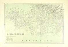 Map of the Islands of Åbo and the Åland islands Swedish Language, Islands, Vintage World Maps, Europe