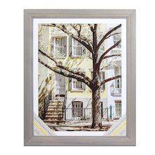 Gray 3-Step Wooden Frame, Alexandria By Studio Décor®