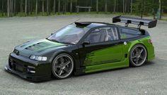 Honda Crx just change the paint job #CRX #Honda #Rvinyl =========================== http://www.rvinyl.com/Honda-Accessories.html