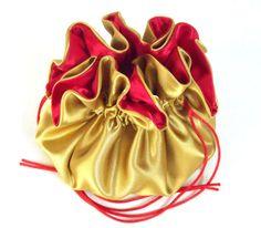 Wedding Bag Satin Dollar Bag Bridal Money by JewelryBagsByEdieCas Wedding Bags, Satin, Money, Purses, Bridal, Red, Handbags, Silver, Elastic Satin